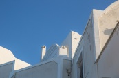 Angled roof line